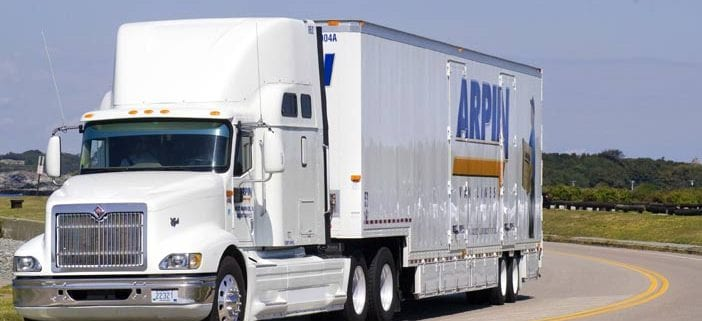 Arpin truck on road